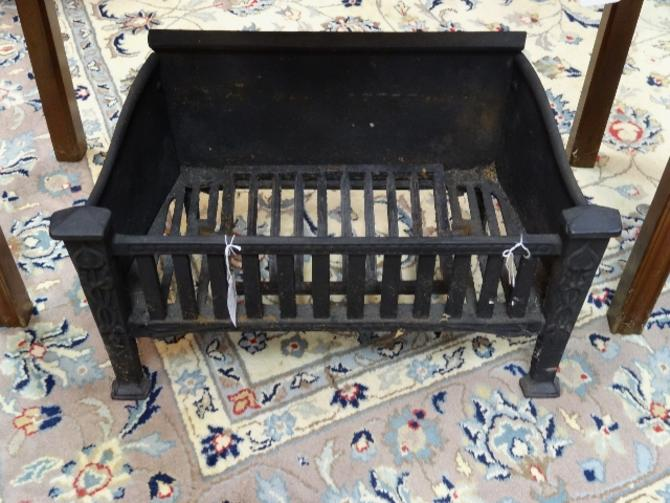 Incredible Vintage Fireplace Grate Coal Basket Download Free Architecture Designs Terstmadebymaigaardcom