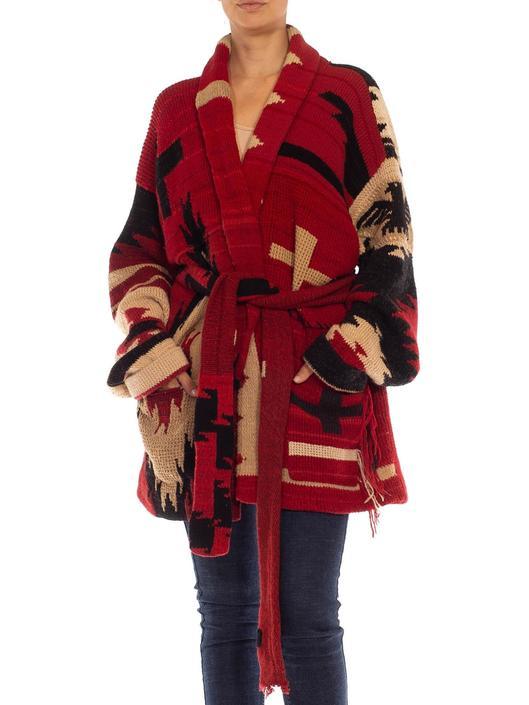 1980S RALPH LAUREN POLO Wool Blend Intarsia Hand-Knit Sweater by SHOPMORPHEW