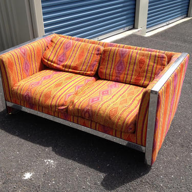 Two 70s Funky loveseats by Dishrecon
