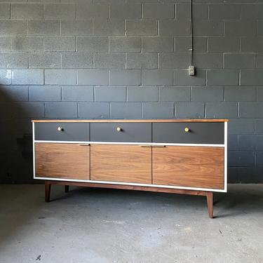 Handcrafted Mid Century Style Credenza by MarthaLeoneDesign