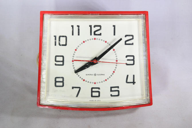 General Electric Model 2H110 Electric Kitchen Wall Clock by ...