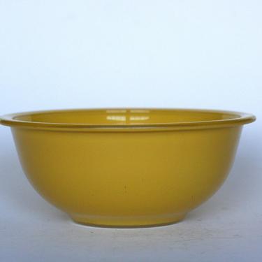 vintage pyrex 323 1.5L yellow clear bottom glass bowl by suesuegonzalas