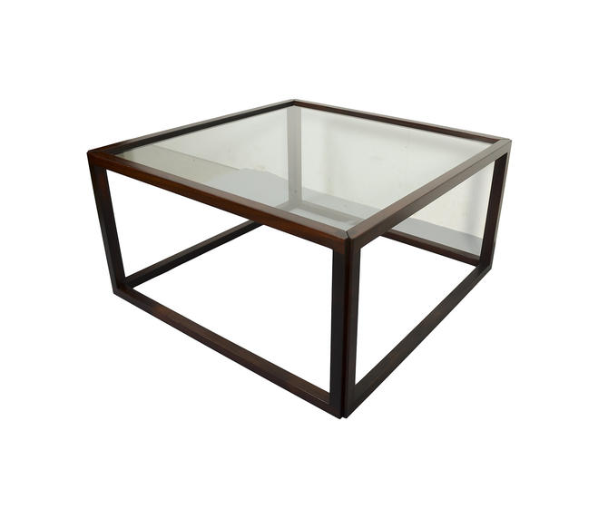 Kai Kristiansen Coffee Table, Rosewood Cube Table Danish Modern by HearthsideHome