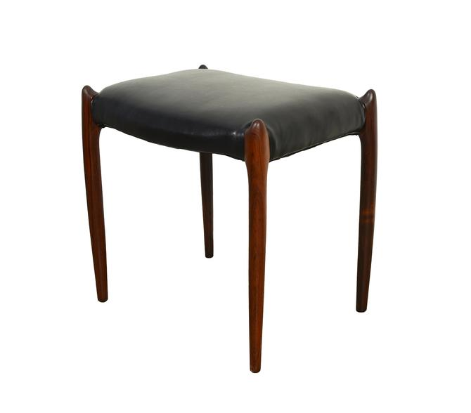 J.L. Moller Rosewood Stool Model 80A Danish Modern by HearthsideHome