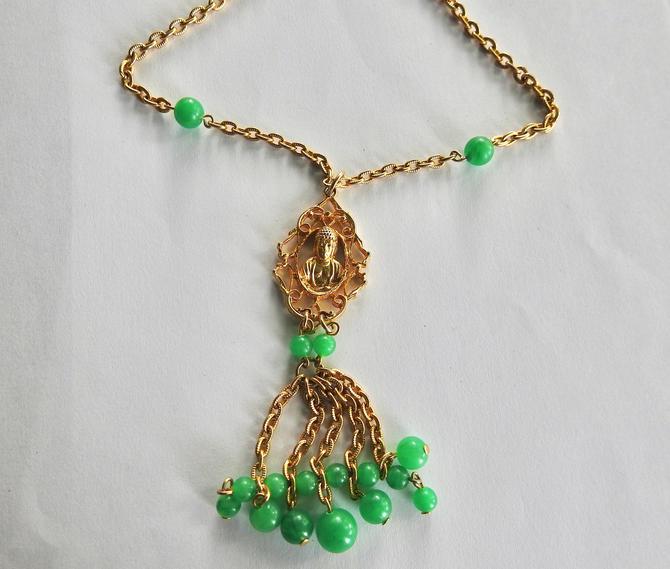Buddha Lucite Necklace by LegendaryBeast