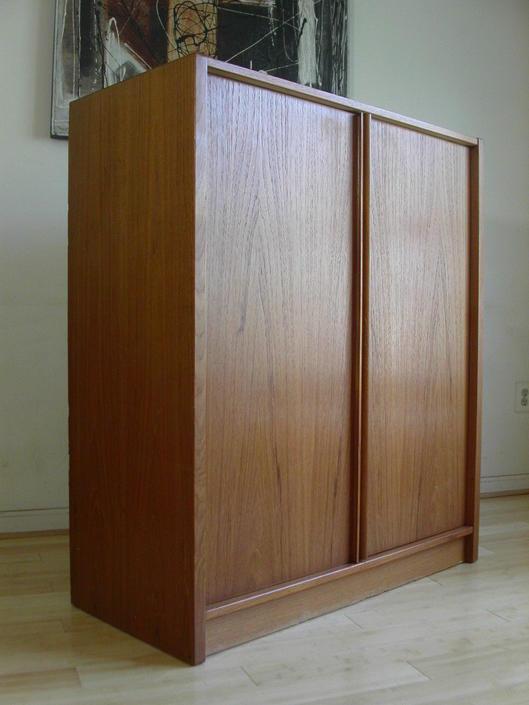 MCM  Danish Modern Teak Gentleman's Chest / Dresser By Jesper Denmark Storage