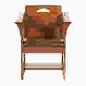 L & G Stickley Mission Style Oak Arm Chair