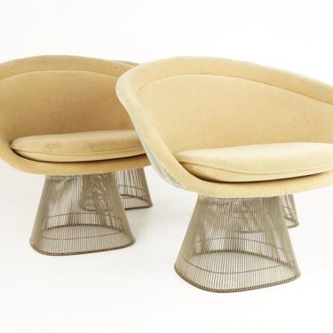 Warren Platner For Knoll Mid Century Dining Chairs - Set 2 - mcm by ModernHill