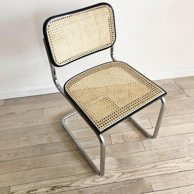1960s Authntic Gavina Cesca Chair by Marcel Breuer