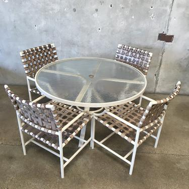 Patio Set Table And Four Chairs By Tropitone