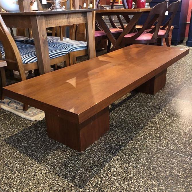 Walnut extendable coffee table! $250