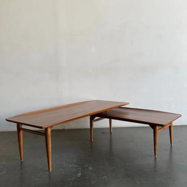 Switch blade coffee table by Bassett by VintageOnPoint