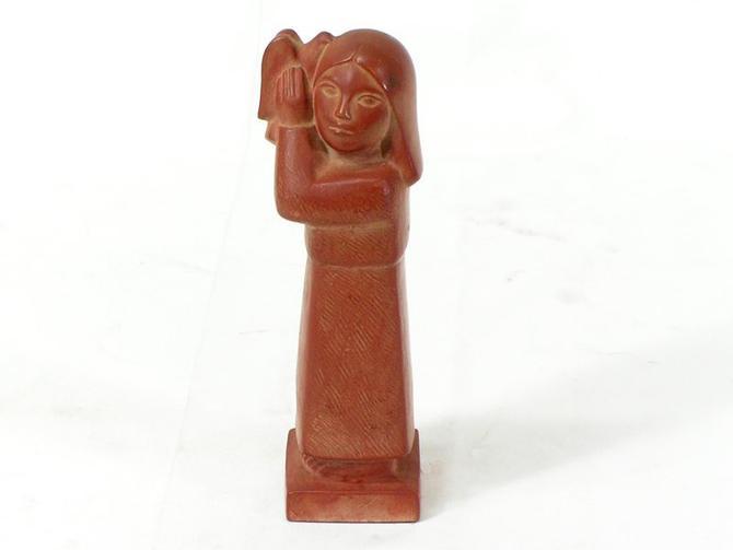 70s Cleo Hartwig Peace Sculpture Vintage Mid-Century Modern Sculptress by BrainWashington