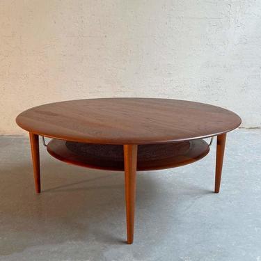Round Teak Coffee Table By Peter Hvidt And Orla Molgaard Nielsen