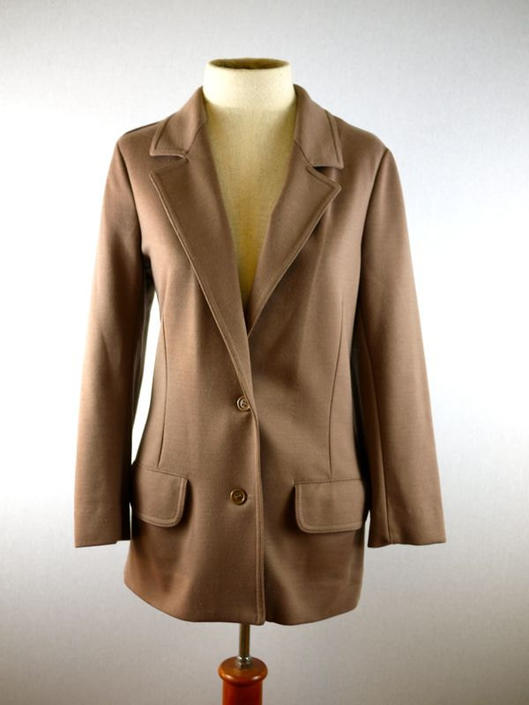 Light Brown Tan Fitted Blazer by citybone