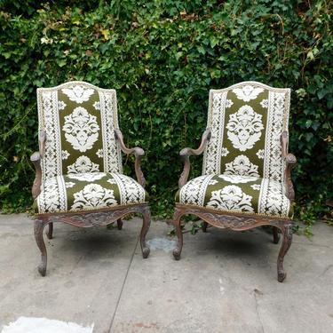 Liberace Damask Chairs (Sold Individually)