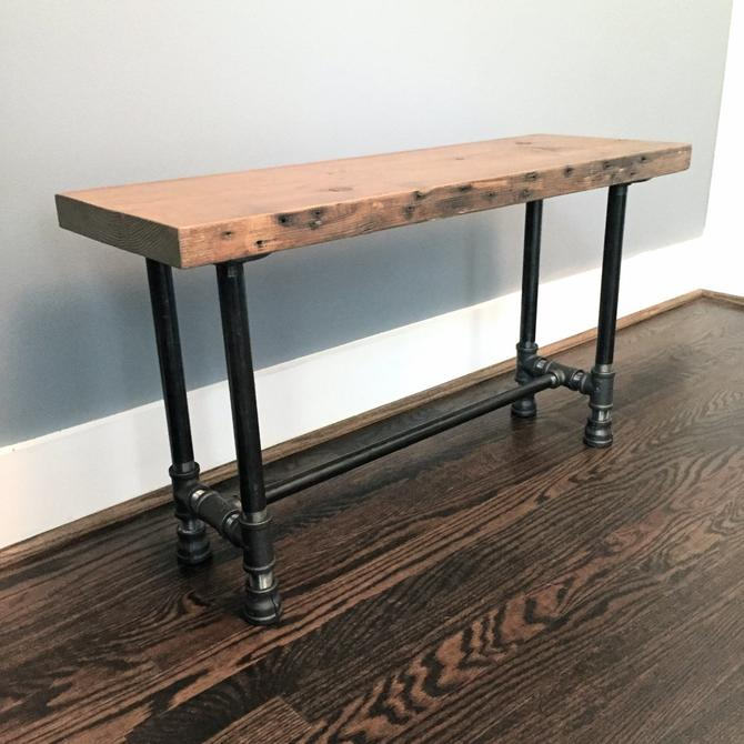 Wayland Bench - Entryway Bench - Dining Bench by arcandtimber
