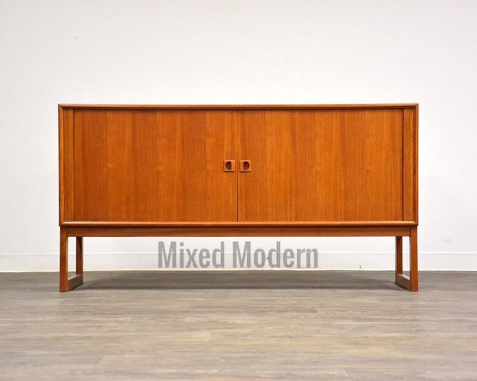 Danish Teak Credenza by Axel Christainsen by mixedmodern1