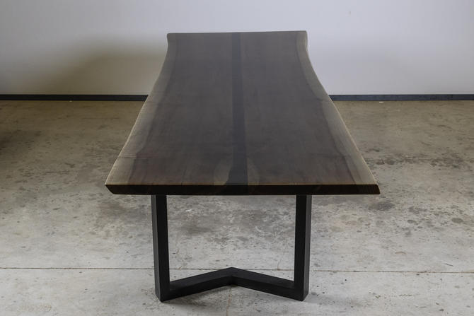 Ray-Ban- Black Channel Table w/ Smoked Finish by KirkpatrickDesigns