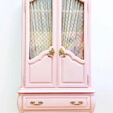 Stunning French Armoire, French Provincial, Chest, Dresser, Nursery by LaVidaBellaDesign