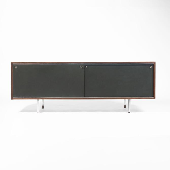 George Nelson EOG 8000 Series Sliding Door Credenza in Walnut by SocialObjects