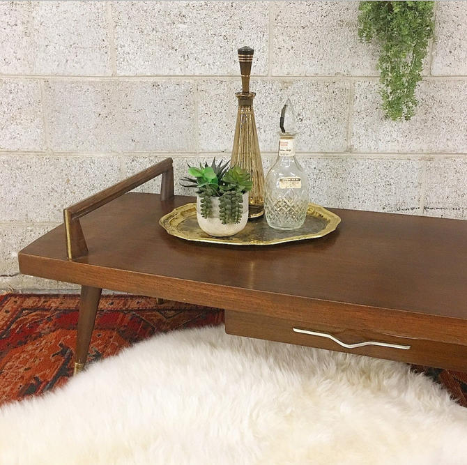 LOCAL PICKUP ONLY ------------ Vintage mcm Coffee Table by RetrospectVintage215