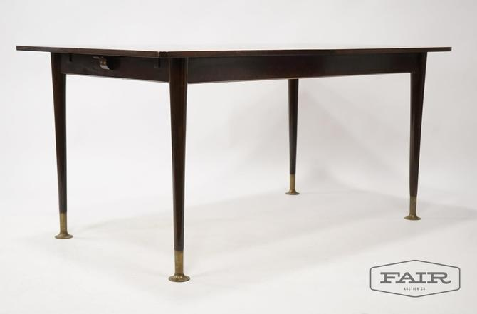 WK Möbel German Expanding Dining Table