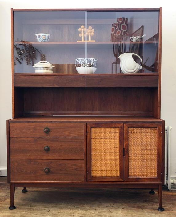 Founders Furniture Walnut Sideboard-hutch