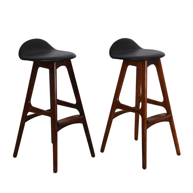 Set of Danish Rosewood Erik Buch Stools