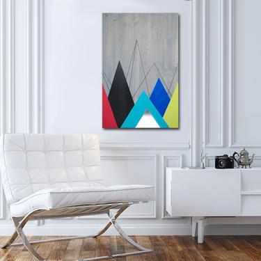 Metal Art Wall Decor, Wood Wall Art Decor, Painting Modern Art, Home Metal Wall Art, Modern Abstract Art by LauraAshleyWoodArt