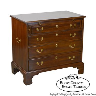 Henkel Harris Mahogany Chippendale Style Bachelors Chest of Drawers by BucksEstateTraders