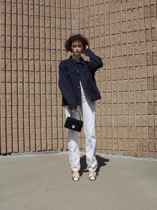 Armani Jeans Navy Jacket