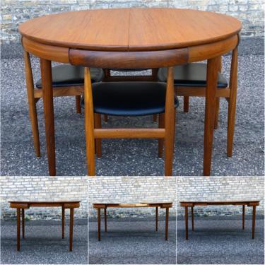 Hans Olsen Roundette Teak Dining Set