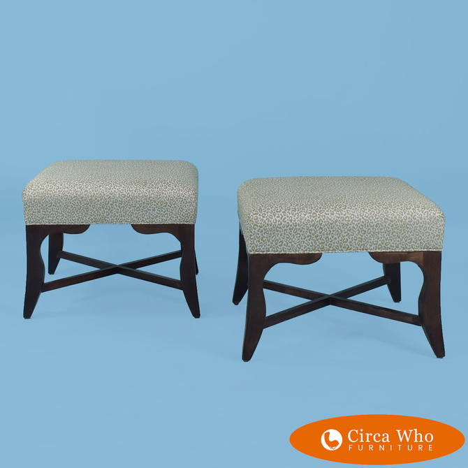 Pair of Baker Stools