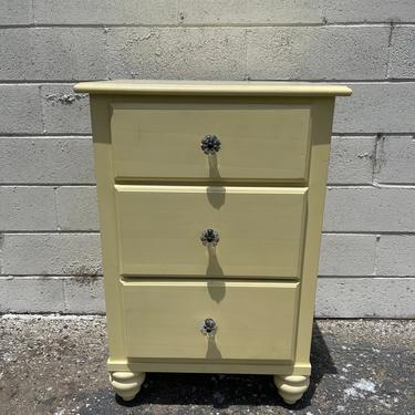 Nightstand Dresser French Provincial Stanley Bachelor Chest Neoclassical Furniture Console Bedroom Console Shabby Chic CUSTOM PAINT AVAIL by DejaVuDecors