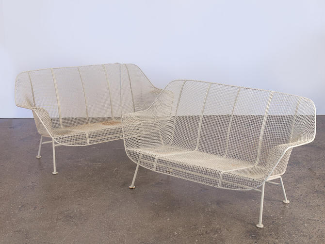 Woodard Sculptura Settees by openairmodern