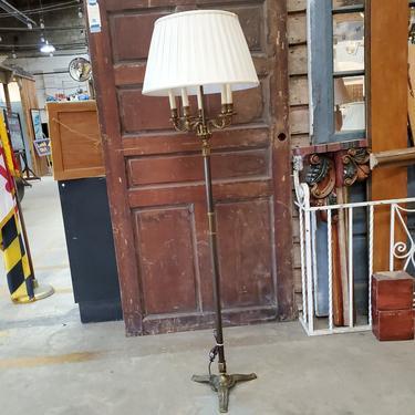 Solid Brass 5 Light Floor Lamp
