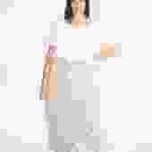 Paper Bag Skirt, Silk Charmeuse in Acacia & Iron