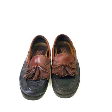 Sperry Top-Sider Wetlands Size 11.5 Lakewood Brown Leather Kiltie Tassel Loafer by MakingMidCenturyMod
