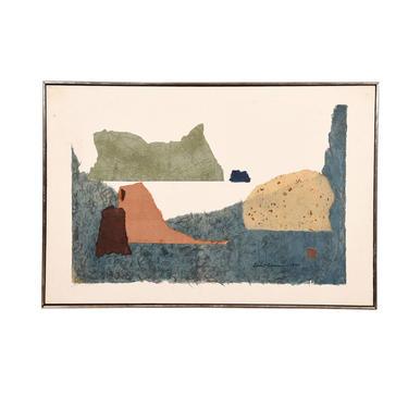 Mid-century Impressionistic Landscape
