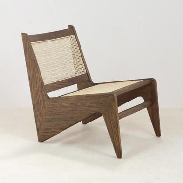 Tribute Jeanneret Kangaroo Chair in Teak