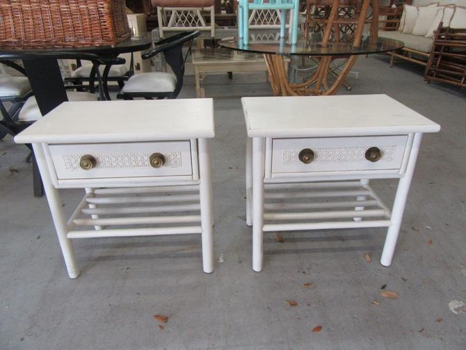 Petite Pair of Side Tables