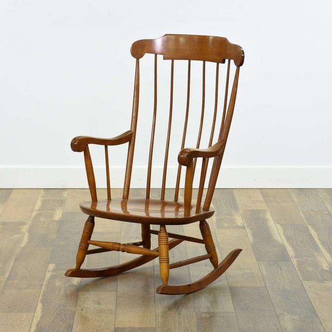 Comb Back Windsor Rocking Chair