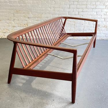 Mid Century Modern Folke Ohlsson for DUX SOFA / COUCH, Made in Sweden by CIRCA60