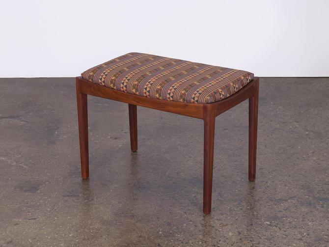 American Modern Walnut Bench by openairmodern