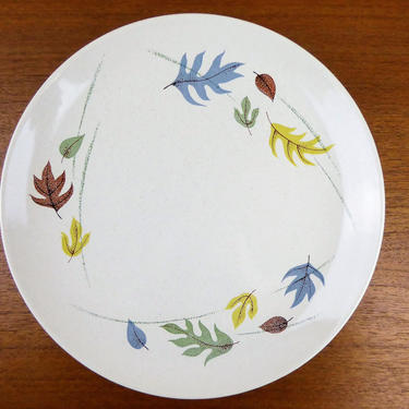 Franciscan Autumn | Dinner Plate(s) | Gladding McBean GMB | Early Mark | 1955-1966 | GORGE by TheFeatheredCurator