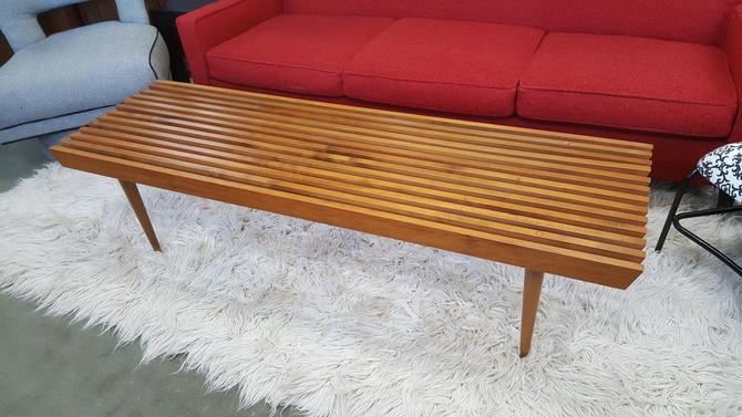 bench slat century modern dollars info diy coffee table mid