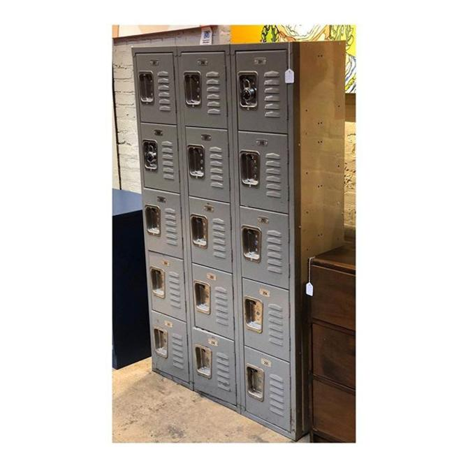 Locker Unit // 3 wide X 1 deep X 5 tall