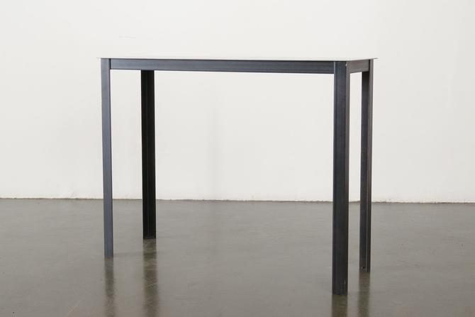 French Steel Console