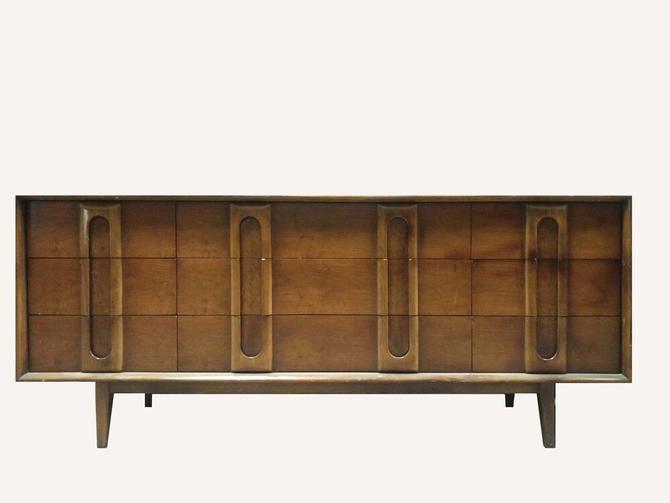 Long Mid Century Dresser — 0663